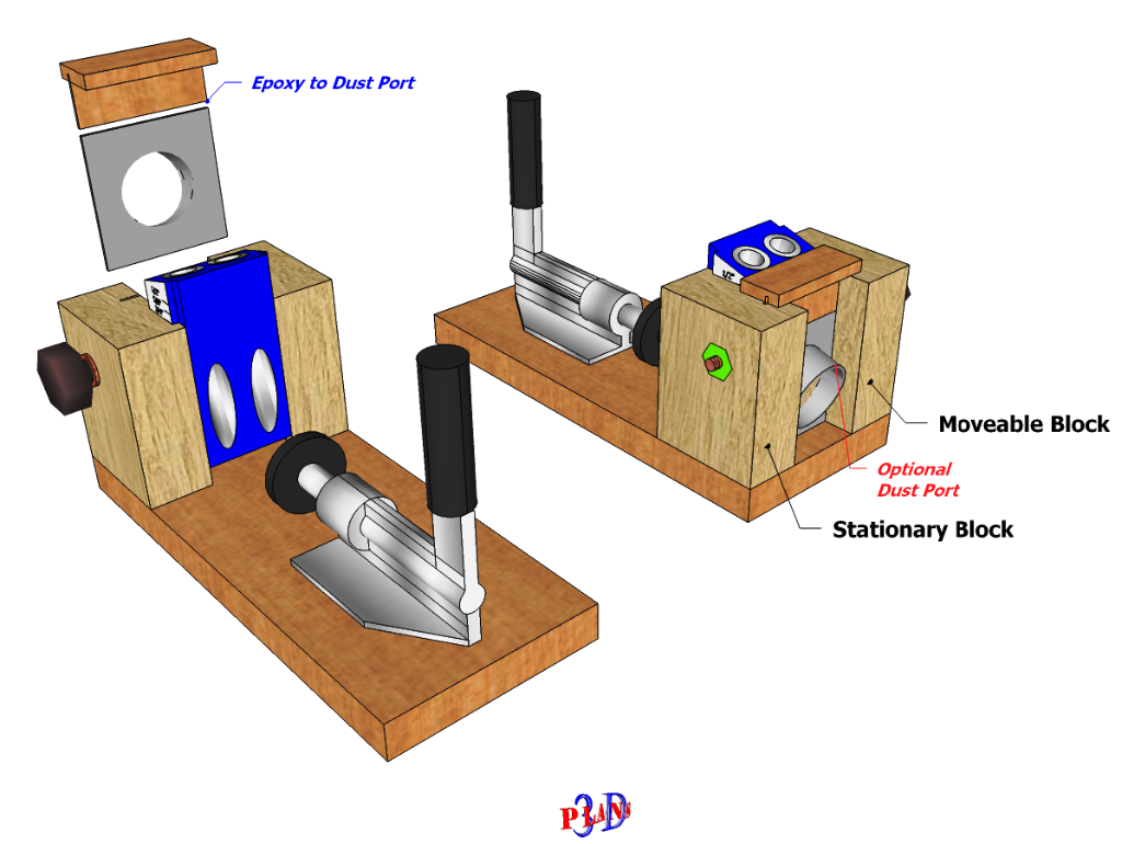 Homemade Pocket Hole Jig Plans (With images) | Woodworking ...