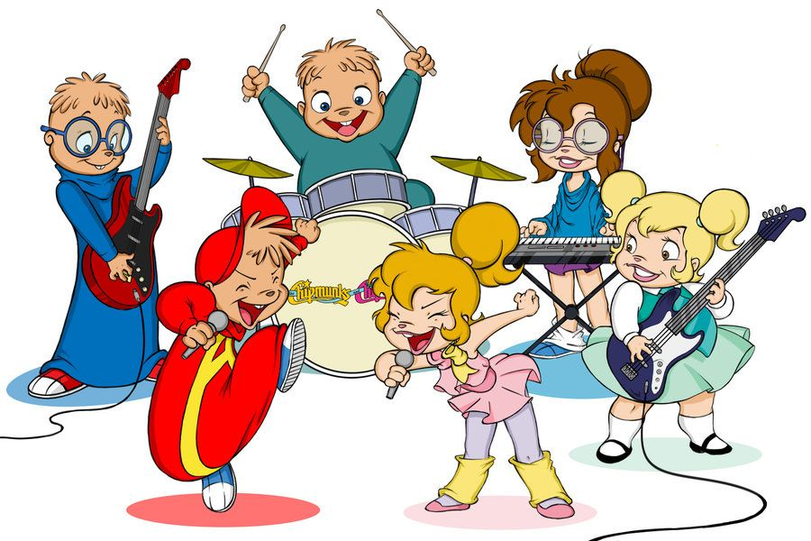 Chipmunks And Chipettes! Why Not, Now That I Am In