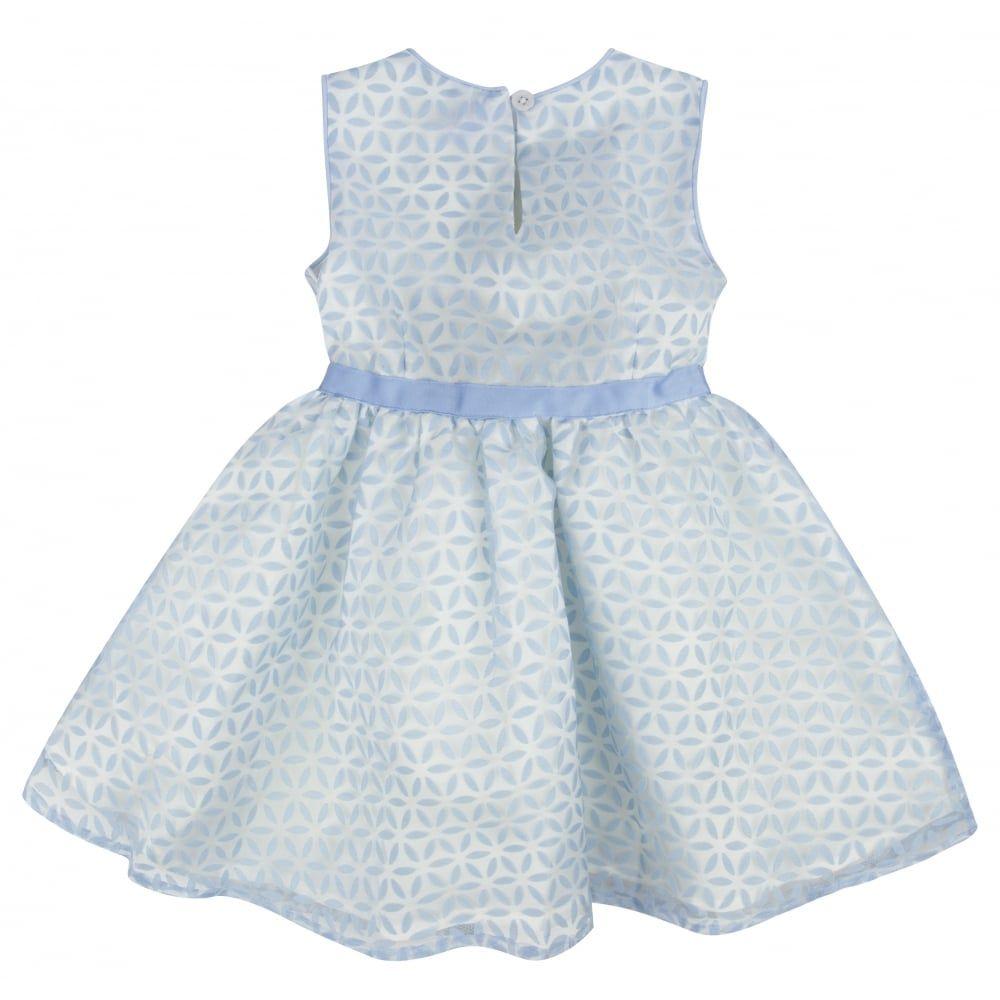 Girls blue flower print dress with blue waistband available now at girls blue flower print dress with blue waistband available now at chocolateclothing izmirmasajfo