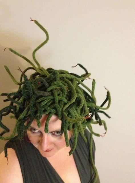 Medusa pattern by Grace Breyley