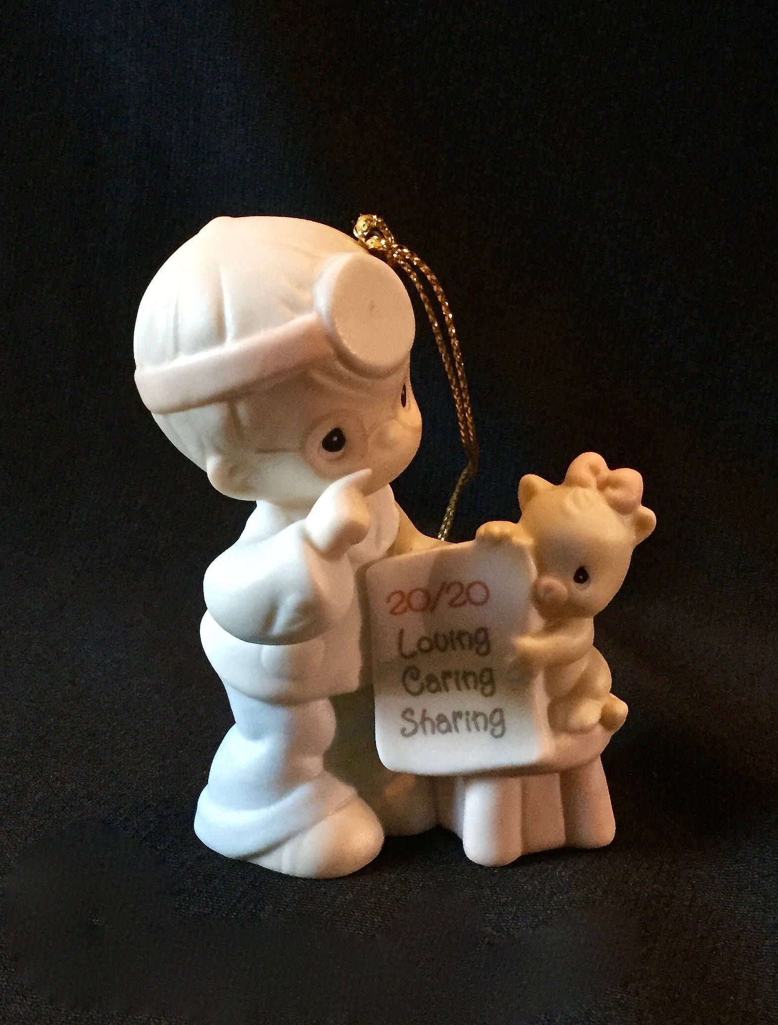Precious Moments Christmas Ornament 20 Years And The Visions Still