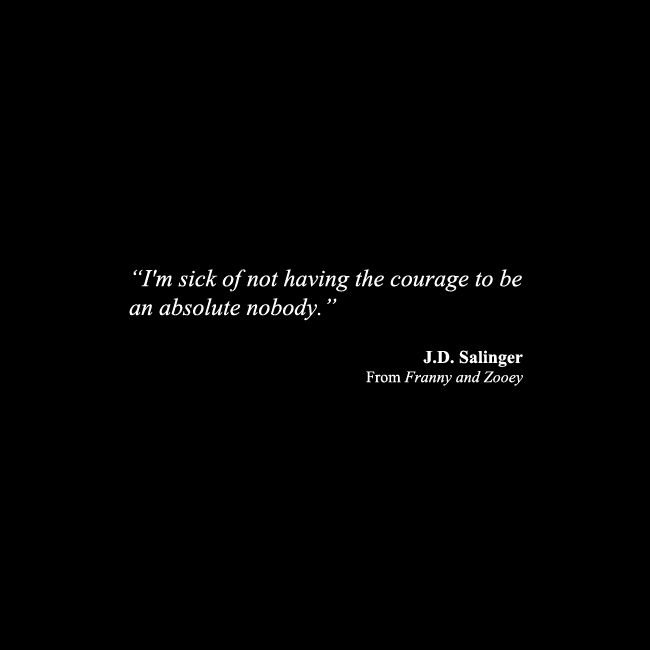 J D Salinger Tattoos Contrariwise Literary Tattoos: J.D. Salinger From Franny And Zooey
