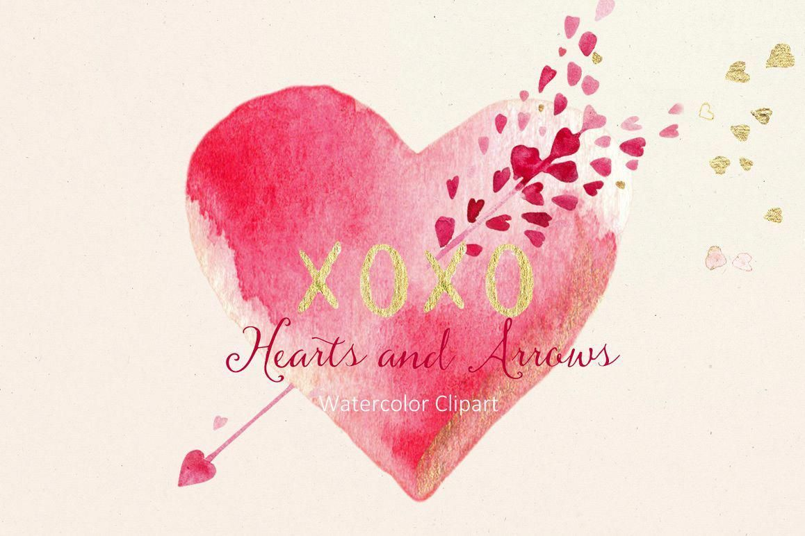 Blogging Guidelines Valentine Clipart Clip Art Watercolor Heart