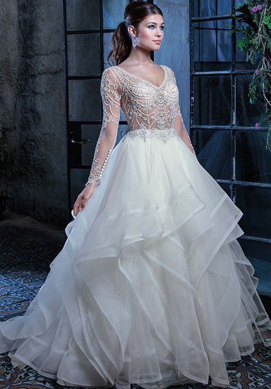 Amaré Couture by Crystal Richard Jordan Ball Gown Wedding Dress ...