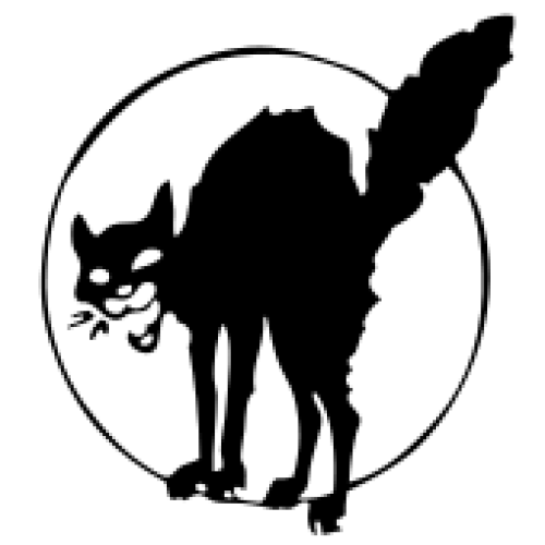 The Black Cat Wild Cat Sabot Cat Anarcho Syndicalism It Was Designed By Ralph Chaplin The Industrial Workers Of Black Cat Tattoos Black Cat Black Cat Sticker
