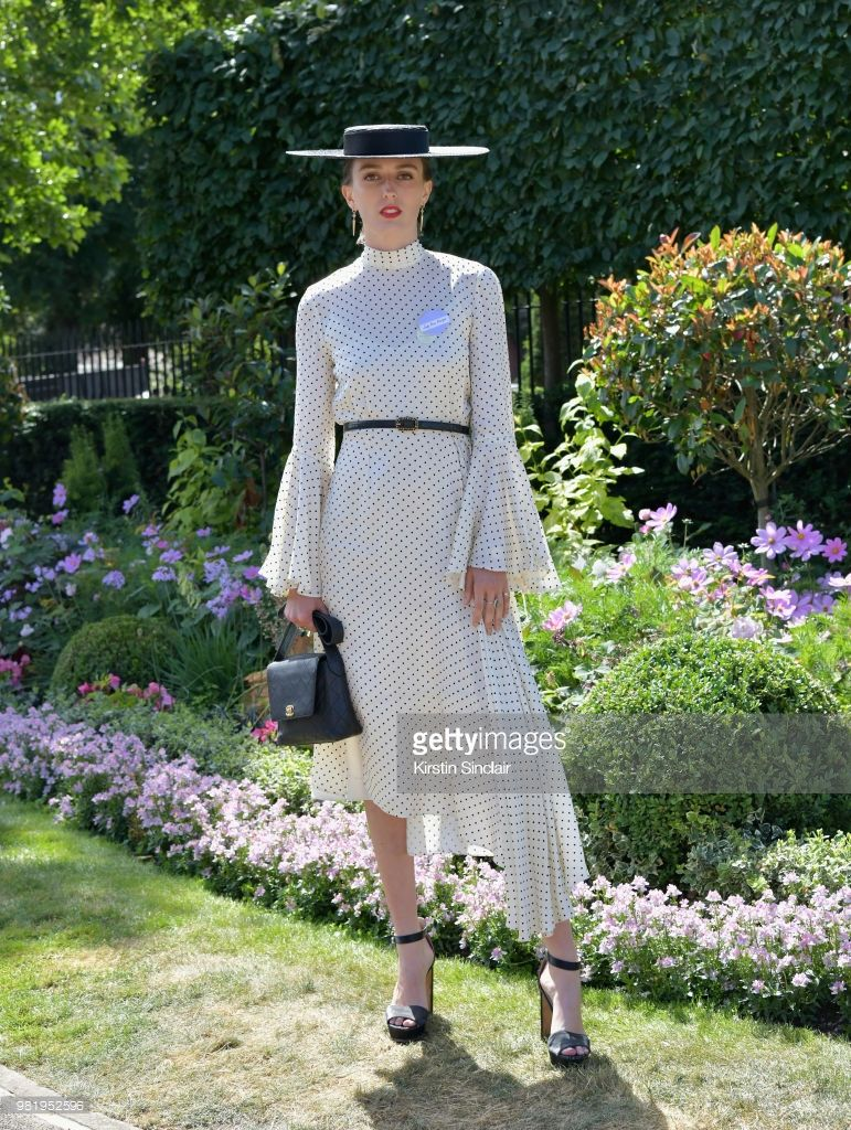 49afe16600e5b Lady Alice Manners attends day 5 of Royal Ascot at Ascot Racecourse ...