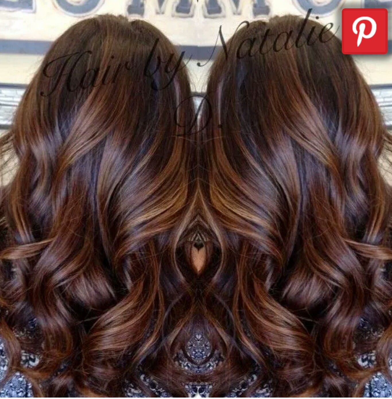 Dark brown with auburn highlights lowlights by jeanette hair n fall hair color long brown hair with caramel balayage my dark brown hair looks amazing with caramel highlights pmusecretfo Gallery