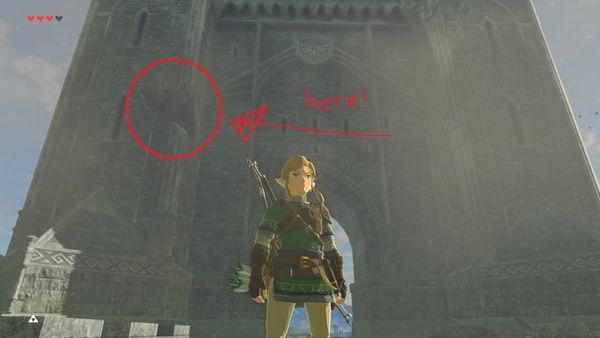 Zelda: Breath of the Wild glitch lets you see Link without