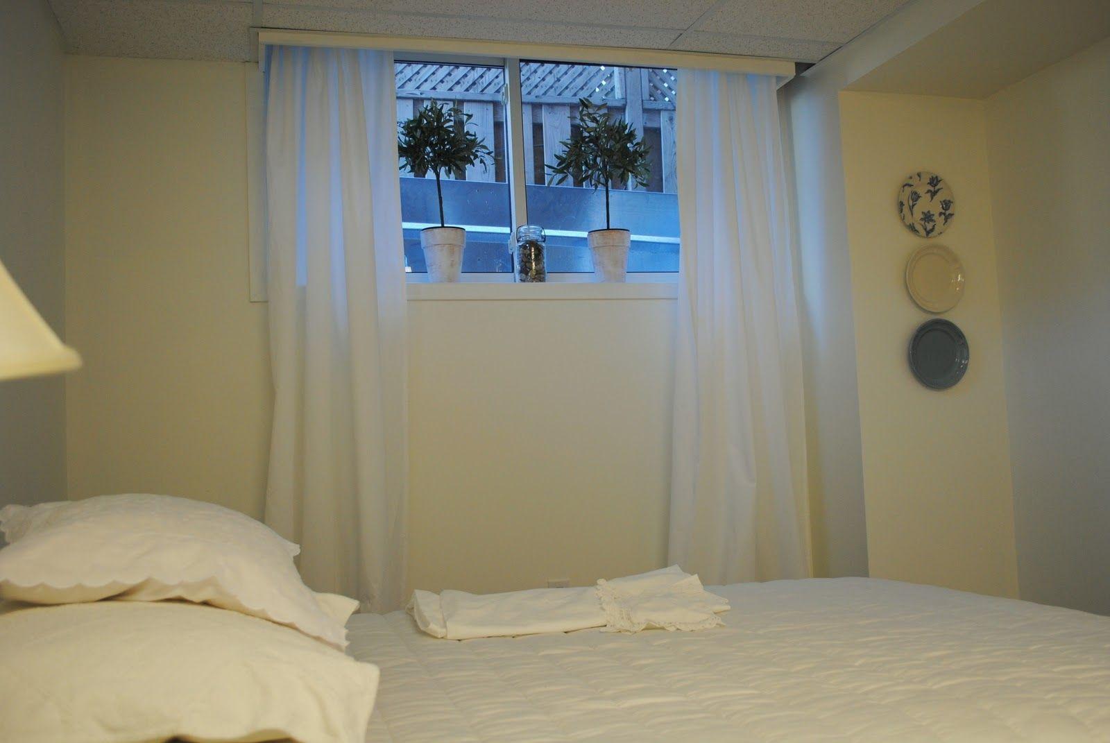 Basement Window Curtains Ideas Keller schlafzimmer ideen