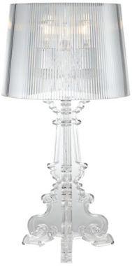 Baroque 28 1 2 Inch H Clear Acrylic Table Lamp Eu97513 Euro
