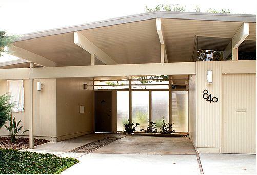 Eichler homes are best known for the post and beam for Mid century post and beam house plans
