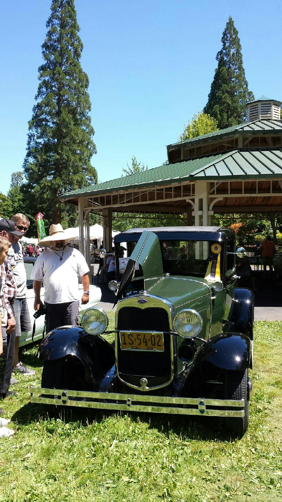 Grants Pass Oregon Back To The 50 S Car Show In The Park