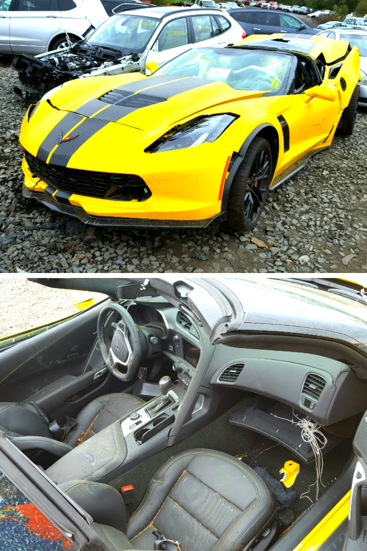 This 2019 Chevrolet Corvette Z06 Is Available In Copart S