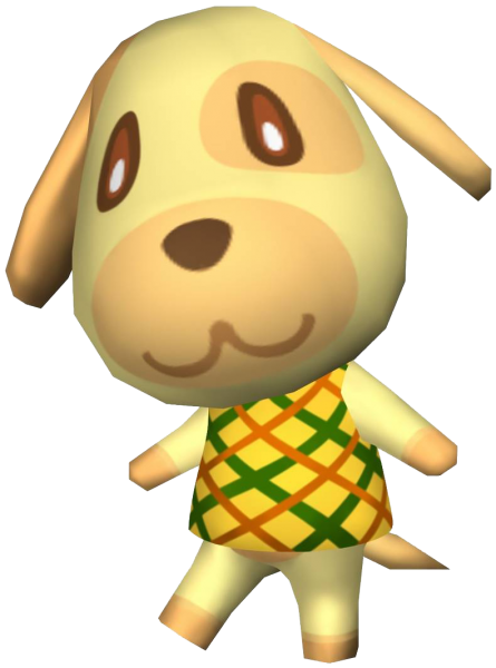 Goldie Animal Crossing New Leaf ACNL Animal crossing