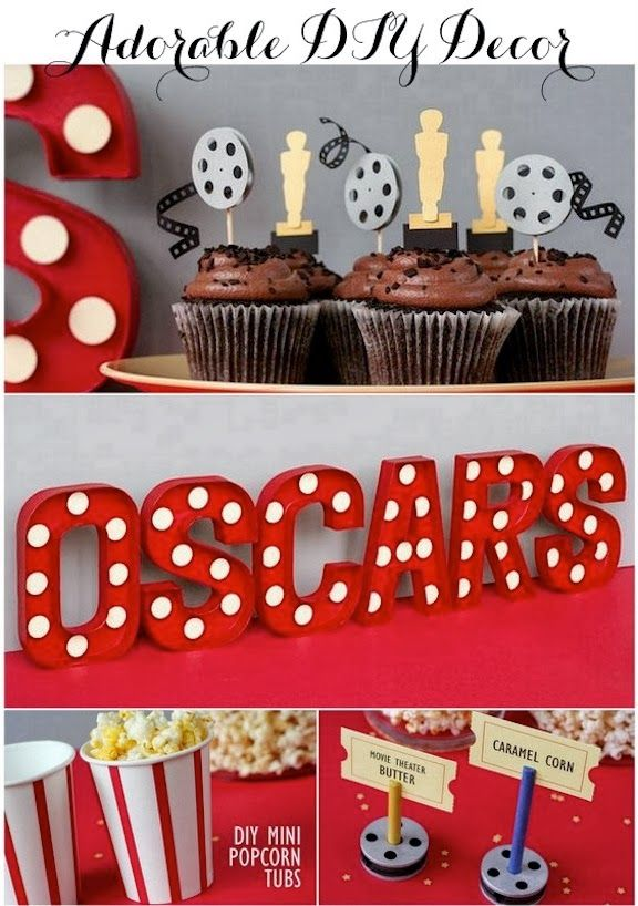 All Kinds Of Party Planning Ideas From Baby Showers To Oscars
