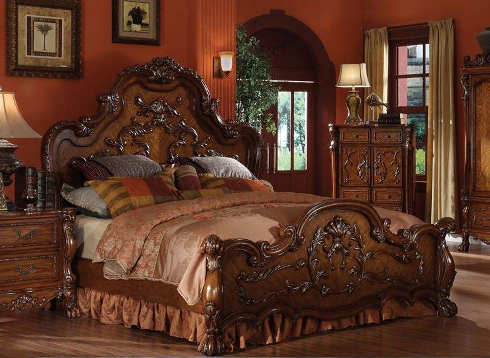 Dresden Traditional Wooden Bed Decor Et Immobilier Pinterest