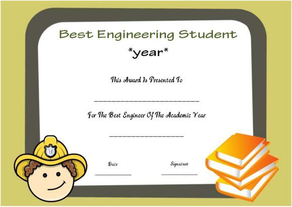 Engineering student of the year award student of the year award engineering student of the year award student of the year award certificate templates pinterest certificate students and template yelopaper Image collections