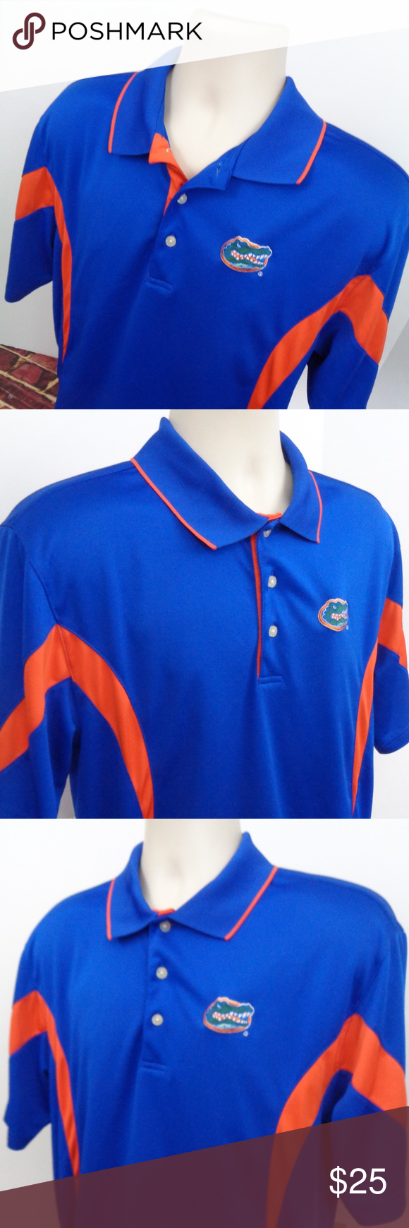 University Of Florida Gators Golf Shirt Size Large This Is A Mens