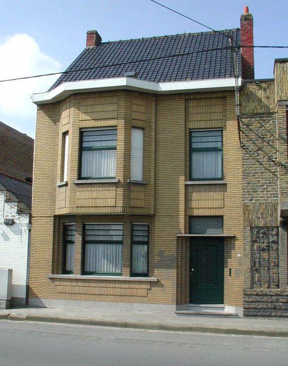 Burgerhuis uit de jaren 1930 - Inventaris Bouwkundig Erfgoed - Inventaris Onroerend Erfgoed