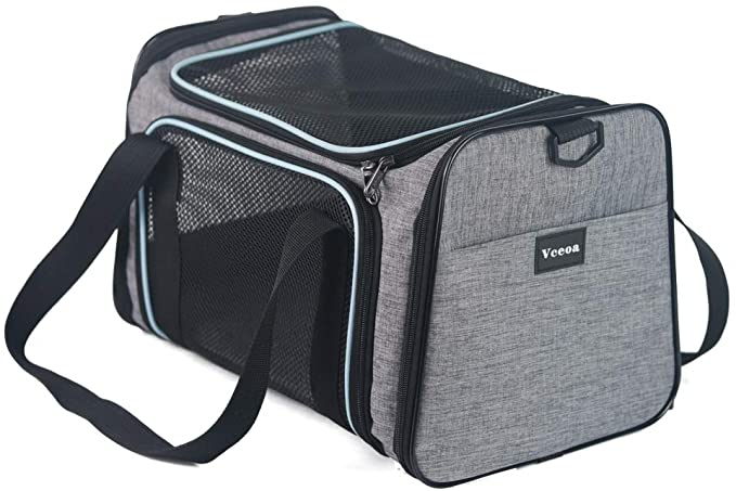 Vceoa Airline Approved Pet Carriers Soft Sided Collapsible Pet