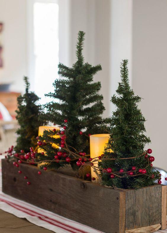 22 Einfache Holly Berry Weihnachts Deko Ideen #christmasdeko