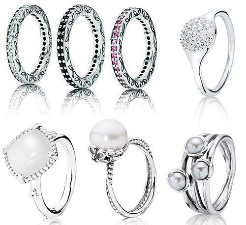 anillos boda pandora