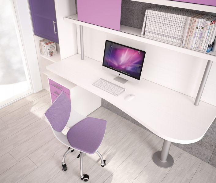 Badroom scrivanie per camerette scrivania sagomata - Mensole per camera bambini ...