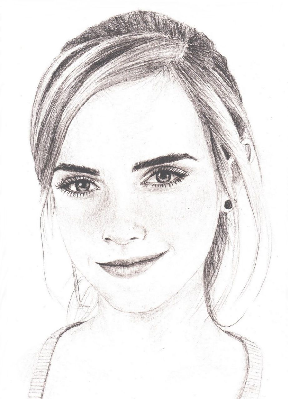 drawings of people - 736×1012