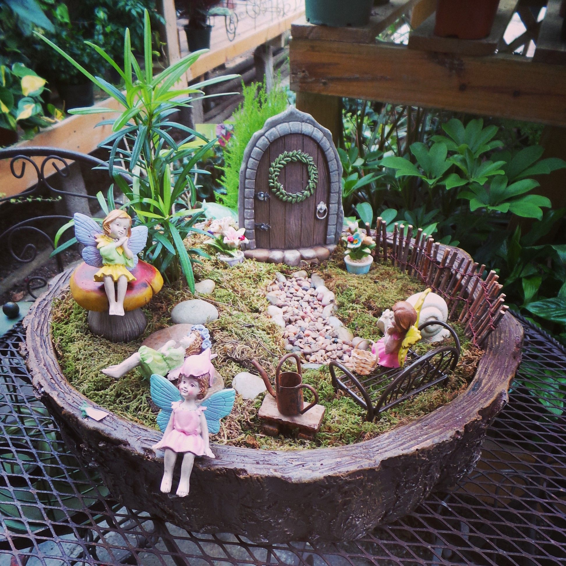 Magical Fairy Garden Designs: Creative Fairy Garden Design Idea For Inspiring Exterior