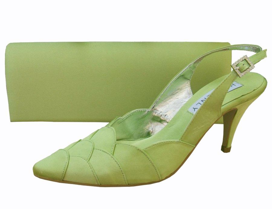 Lime Green Ladies Shoes Evening Shoes And Matching Bag | Shoes Shoes Shoes | Pinterest | Ladies ...