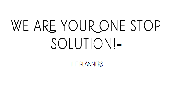 We are your one stop solution!