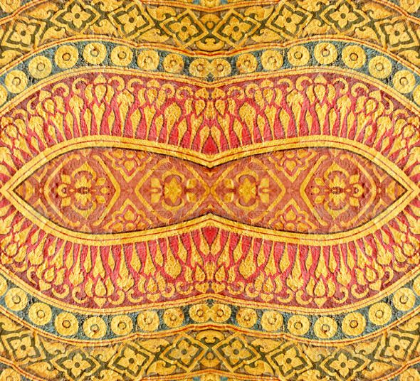 Vintage Thai pattern - Stock Photo - Images