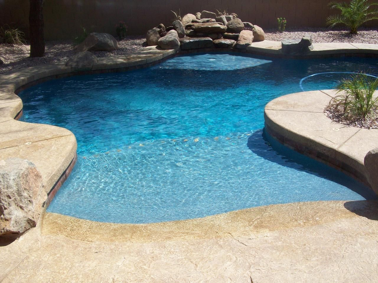 Pools By American Backyards   BEACH ENTRY