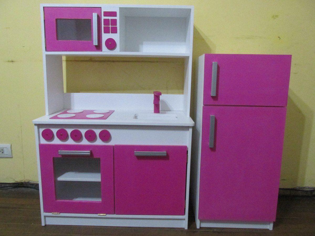 cocinita de madera | juguetes | Pinterest | Cocina de madera, Madera ...