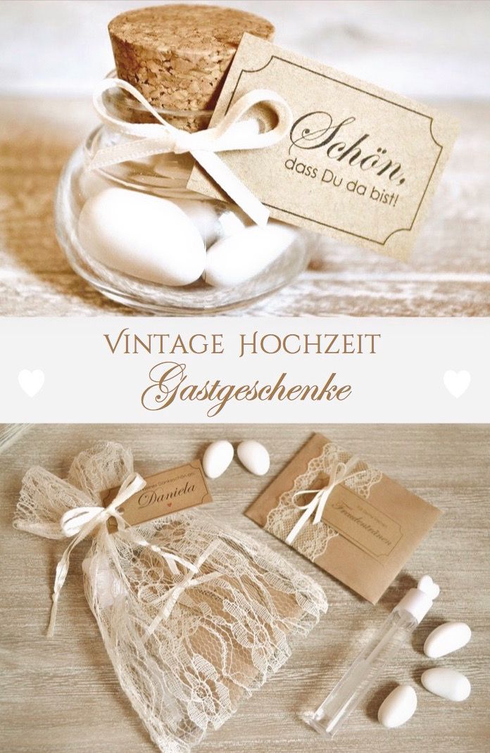 Guest gifts for weddingvintagewedding almonds in glass