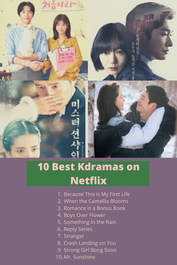 My 10 Favorite Kdramas To Watch On Netflix Film Romantis Netflix Film Bagus