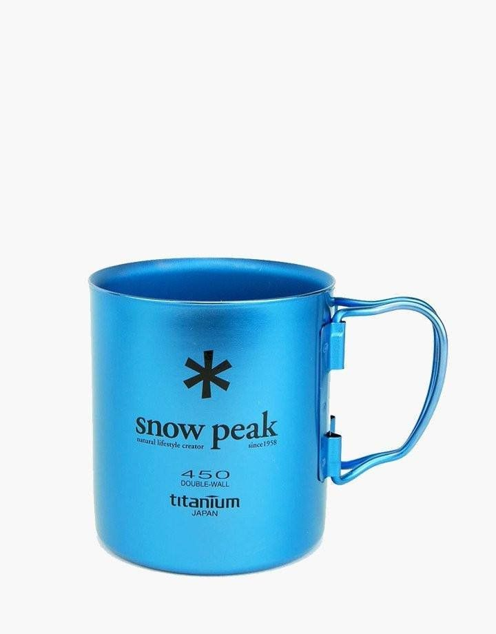 Snow Peak Ti-Double 450 Colored Mug