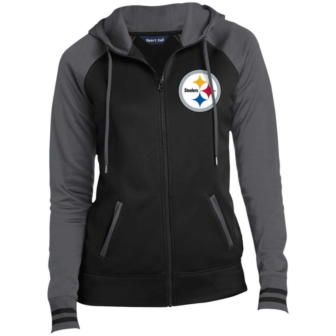 Pittsburgh Steelers Nfl Sport Tek Ladies Full Zip Hooded Jacket Check More At Https Lapomm Nfl Sports Hooded Jacket Jackets Comprehensive national football league news, scores, standings, fantasy games, rumors, and more. pinterest