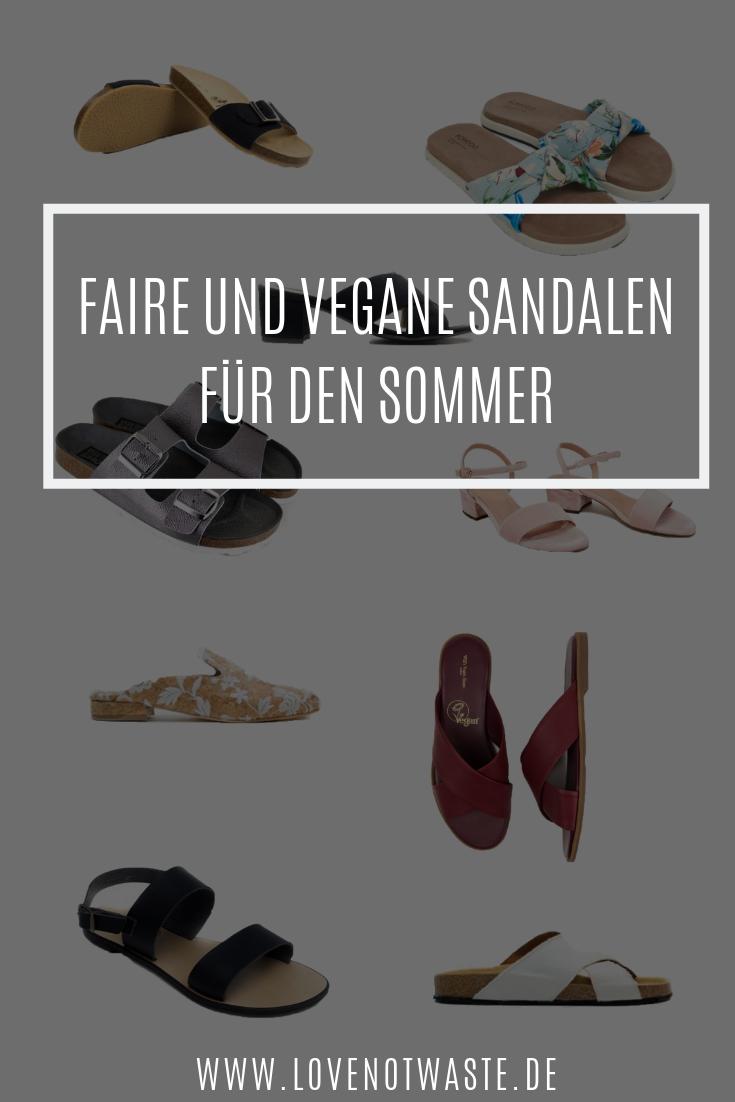 Sommerschuhe und Sandalen: vegan, fair und nachhaltig