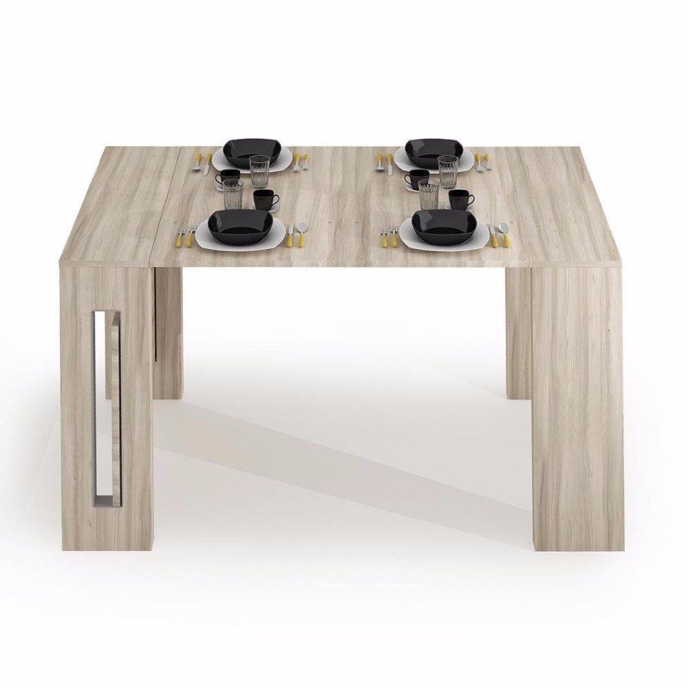 Console Extensible Grandezza Chene Jusqu A 8 Couverts Avec Allonges Integrees Console Extensible Table Salle A Manger Et Console