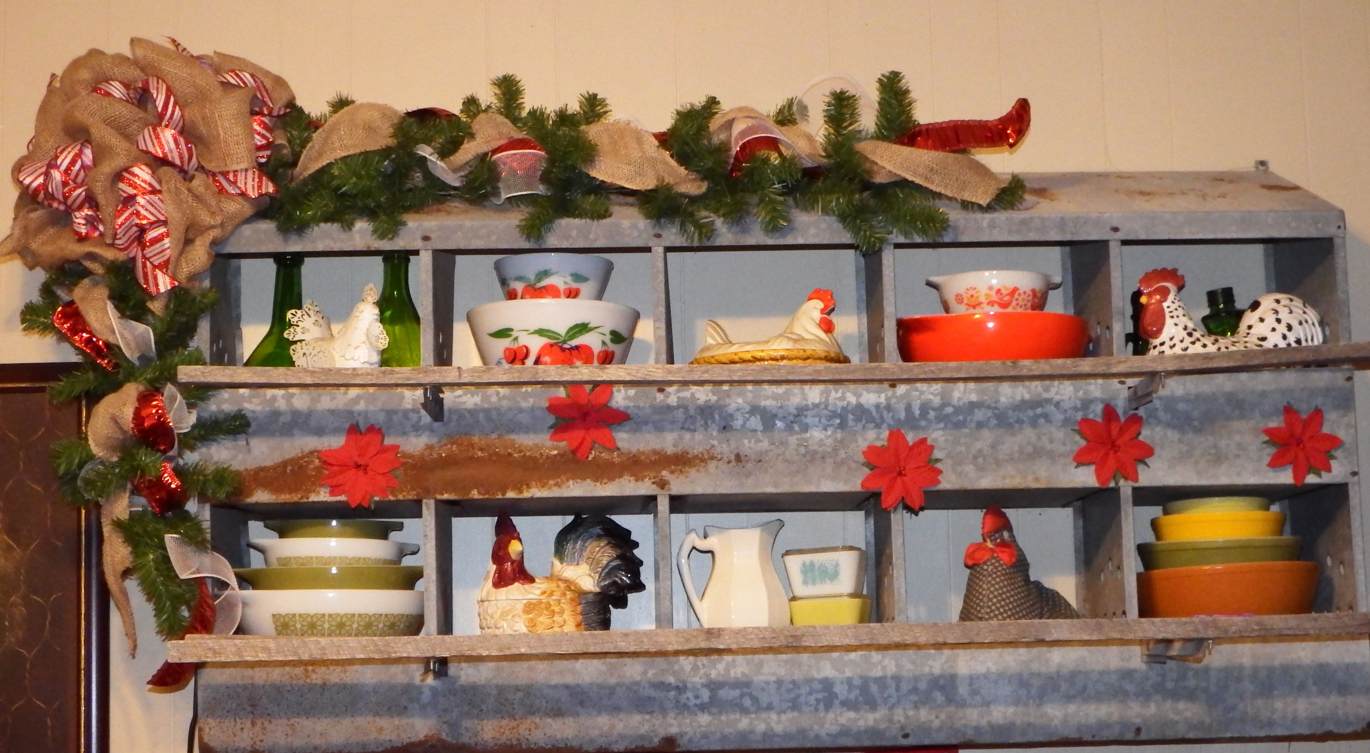 Chicken Nesting Box decorated for Christmas 2014. | Home ideas ...