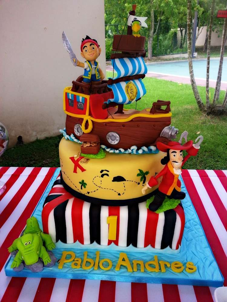 Pleasant Jake And The Neverland Pirates Birthday Party Ideas Avec Images Funny Birthday Cards Online Inifofree Goldxyz