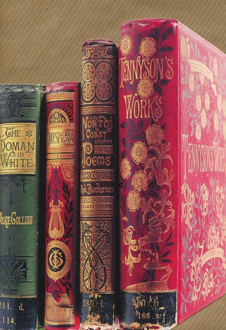Gorgeous Vintage Covers Victorian Books Antique Books Vintage Books