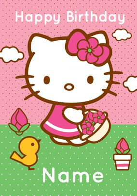 Hello Kitty Christmas Cards Free