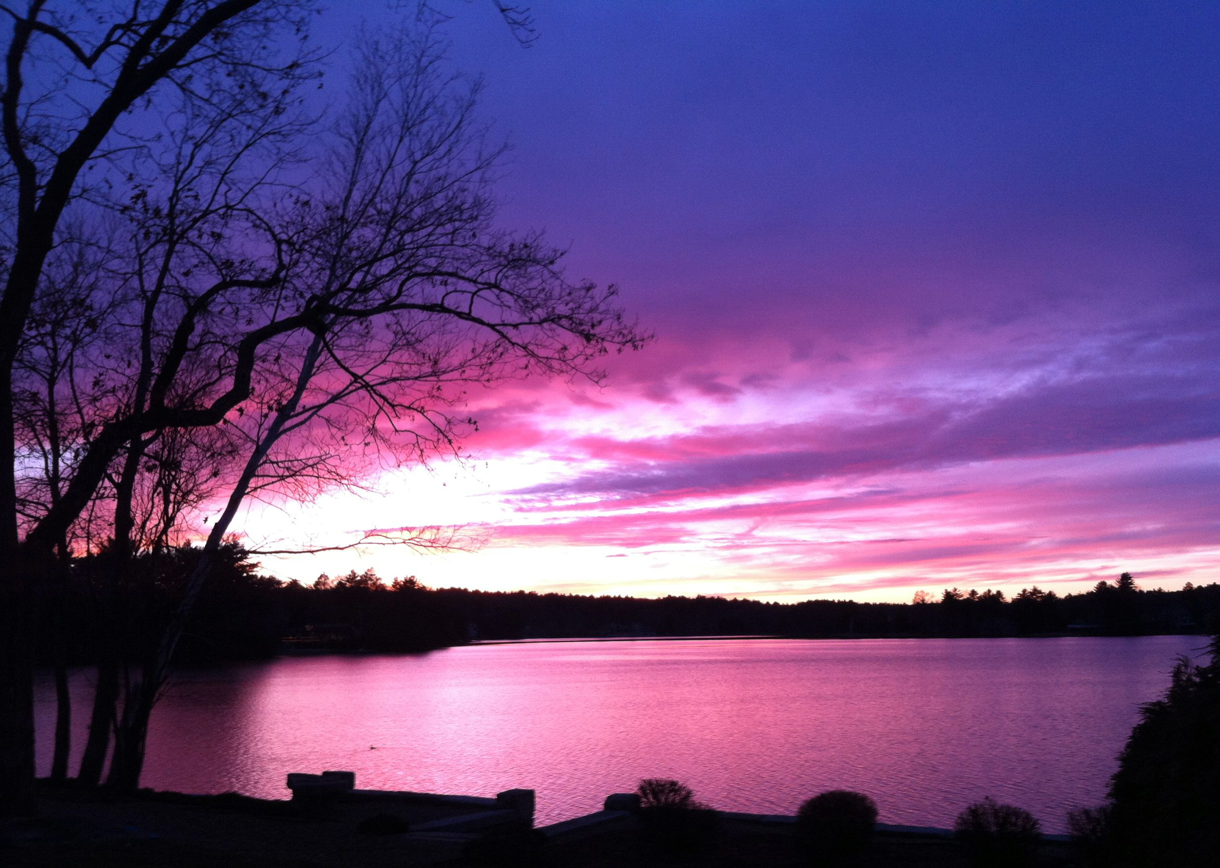 Pink And Purple Sunset With Images Purple Sunset Gods