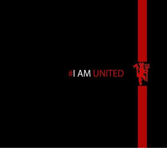 I Am United Sepak Bola Olahraga Wallpaper Ponsel