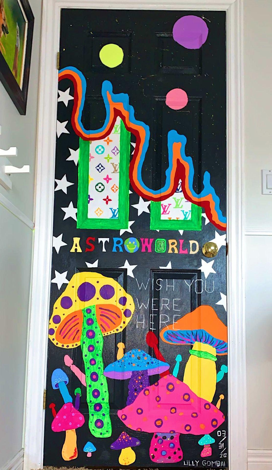 Door Painting Painted Bedroom Doors Bedroom Wall Paint Art Room