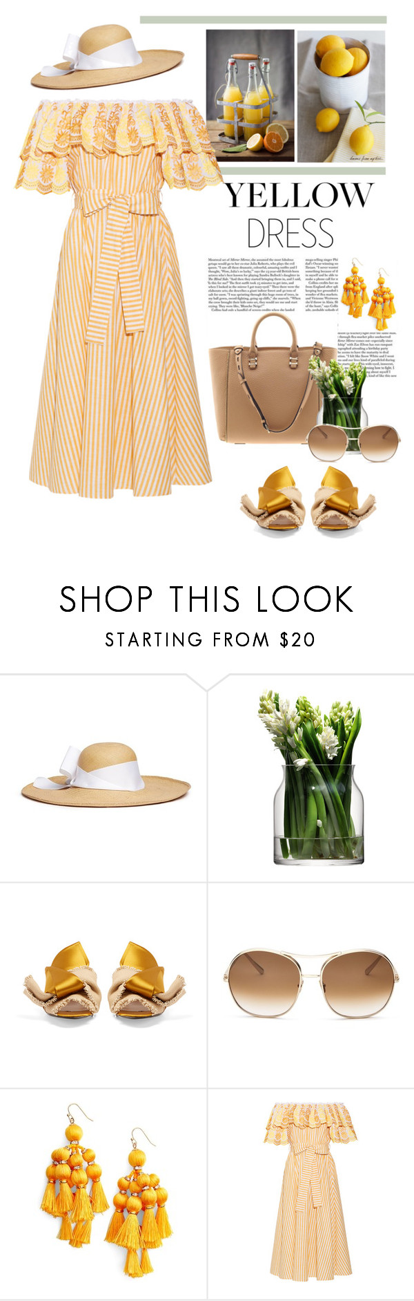 """17.03.2017"" by desdeportugal ❤ liked on Polyvore featuring Sensi Studio, Rebecca Minkoff, LSA International, N°21, Chloé, Kate Spade and Gül Hürgel"