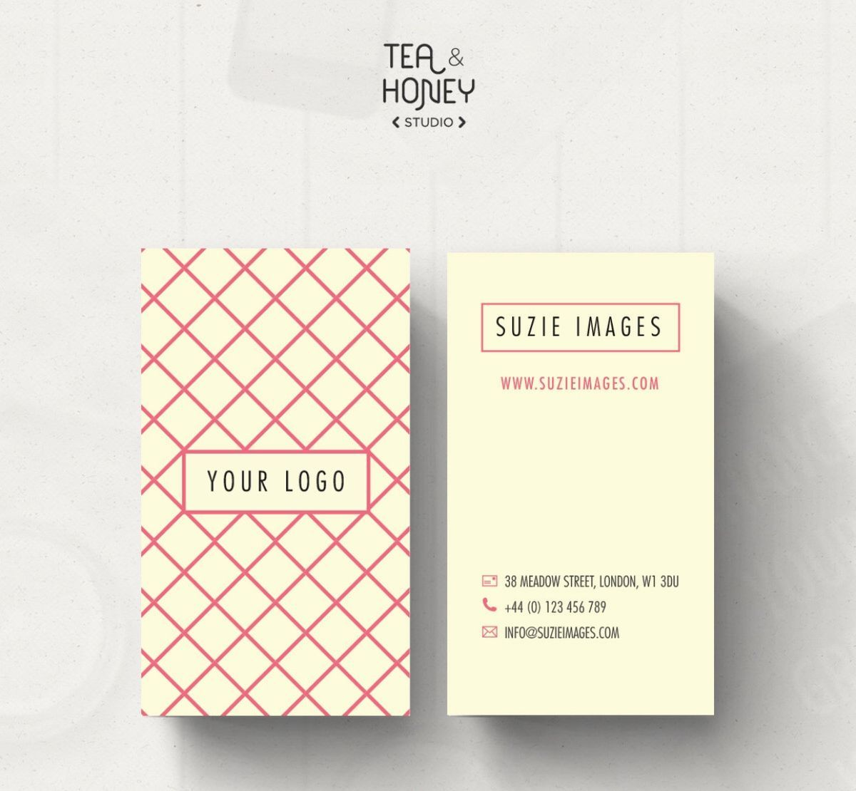 Square Business Card Mockup Kostenlose Psd In Verbindung Mit