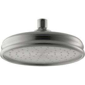 Kohler Traditional Vibrant Brushed Nickel 1 Spray Rain Shower Head